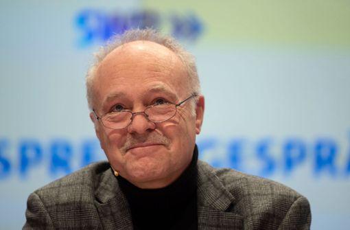 Peter Boudgoust vermisst seine Kollegen