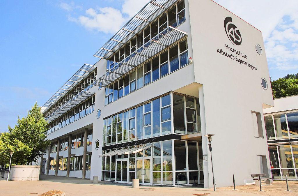 Seit Monaten in den Schlagzeilen: Hochschule Albstadt-Sigmaringen. Foto: StZ