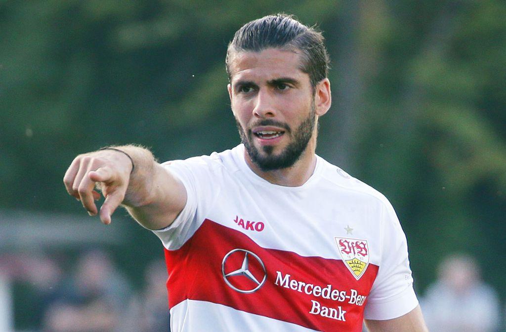 Nach viereinhalb Jahren hat Emiliano Insua den VfB Stuttgart in Richtung Los Angeles verlassen. Foto: Baumann