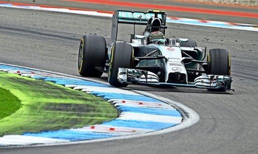 Rosberg siegt am Hockenheimring