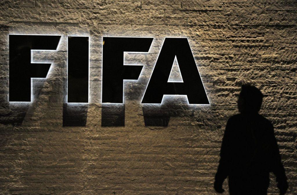 Die FIFA kommt nicht zur Ruhe. Foto: KEYSTONE FILE