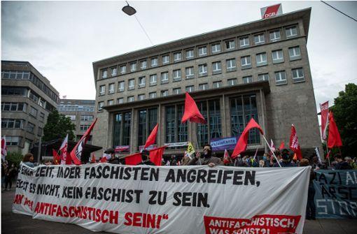 Protest gegen Identitäre Bewegung