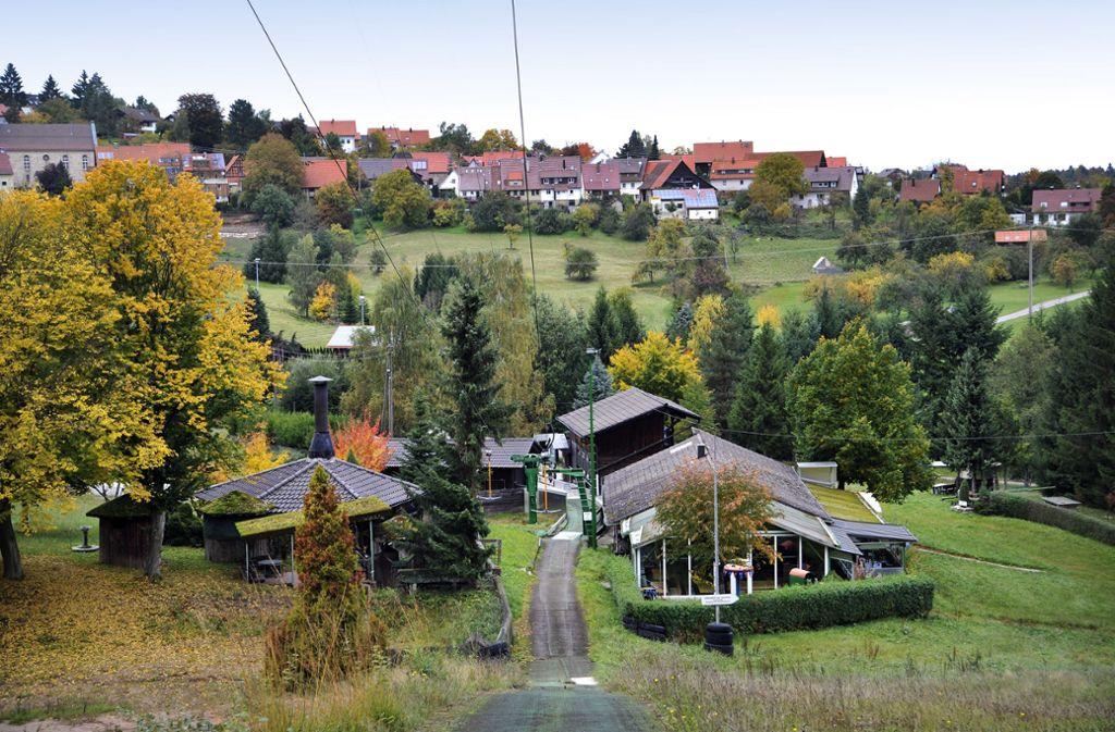 Großerlach hat einen Skilift, aber kein Lebensmittelgeschäft mehr. Foto: Martin Stollberg
