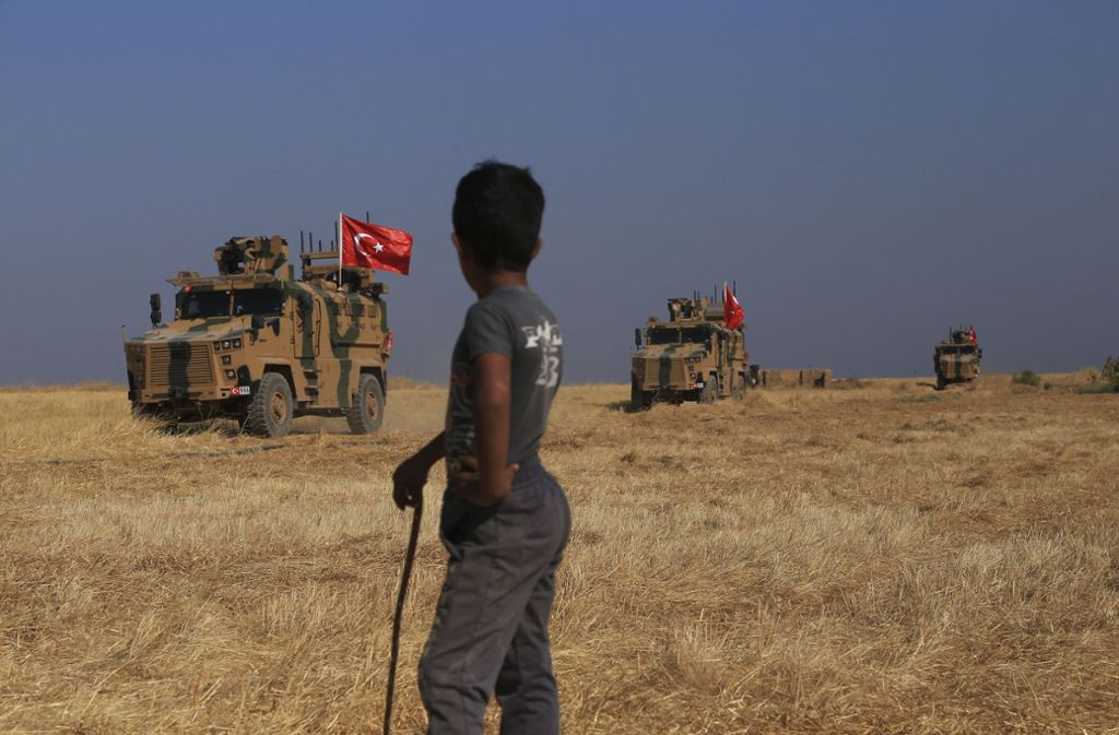 Seit Mittwoch läuft die türkische Militäroffensive in Nordsyrien. Foto: dpa/Baderkhan Ahmad