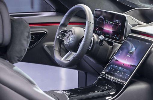 Im neuen Daimler sieht es aus wie in einem Tesla