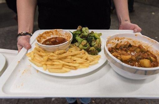 Uni verbietet Reste-Essen in der Mensa