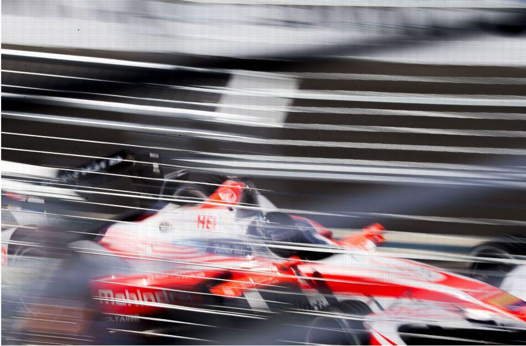 Die Höchstgeschwindigkeit eines Formel-E-Boliden beträgt 225 km/h (elektronisch geregelt) ... Foto: AP