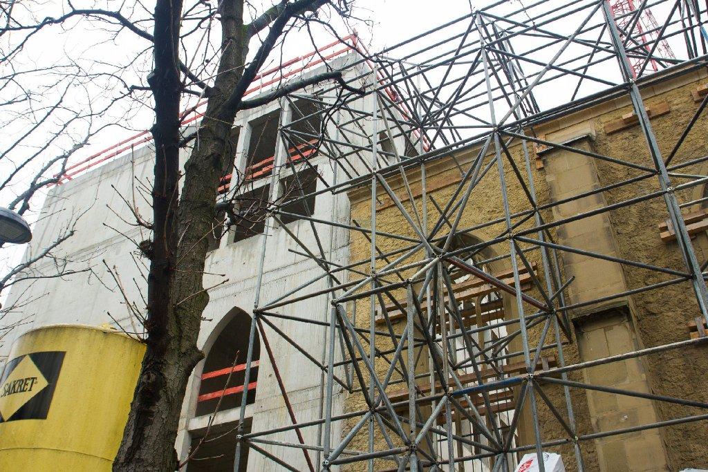 Was hat sich im Hospitalviertel getan? Wir halten die Baufortschritte in Bildern fest. Foto: www.7aktuell.de   Karsten Schmalz
