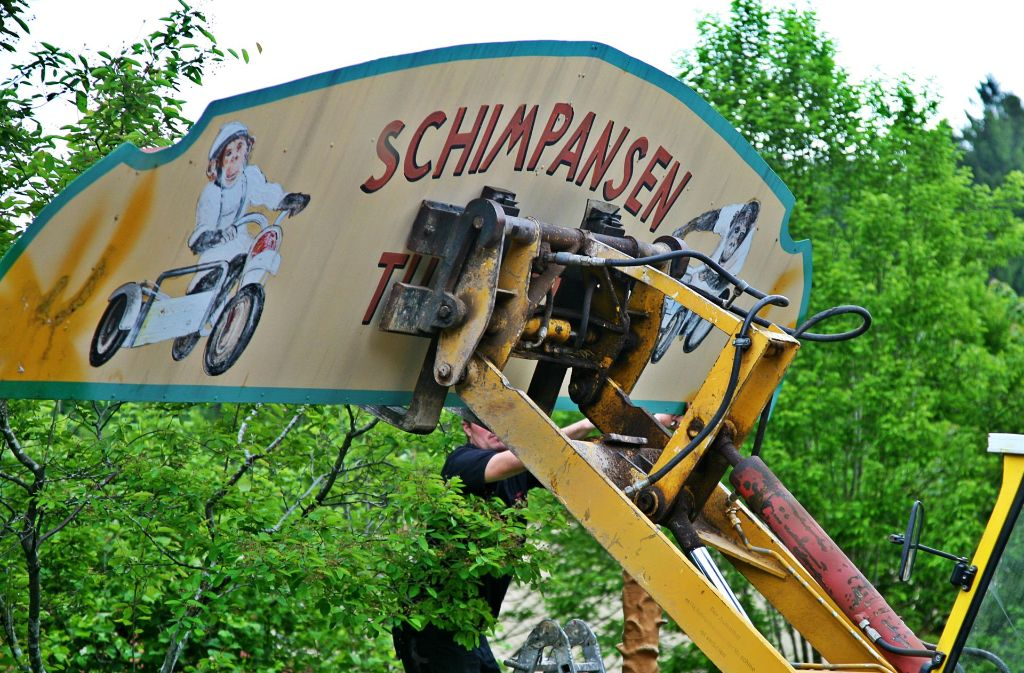 Die Tage der Affen-Show im Schwaben-Park sind vorüber. Foto: Schwaben-Park