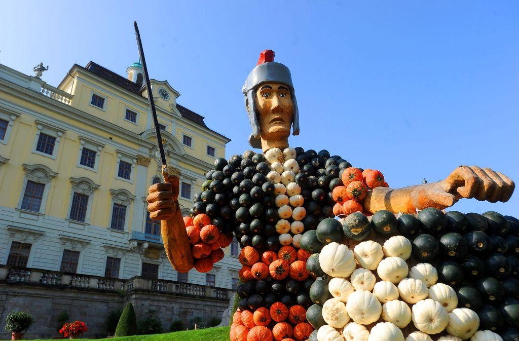 In der Kürbisausstellung geht's ums alte Rom. Foto: