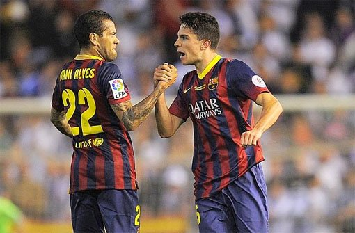 Barça-Star Alves reagiert souverän