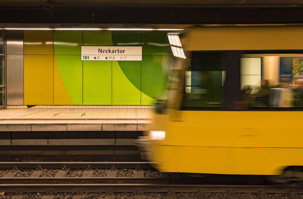 Kontrolliert worden ist auch an der Haltestelle Neckartor. Foto: Lichtgut/Max Kovalenko