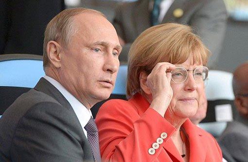 Putin der, Merkel die Mächtigste