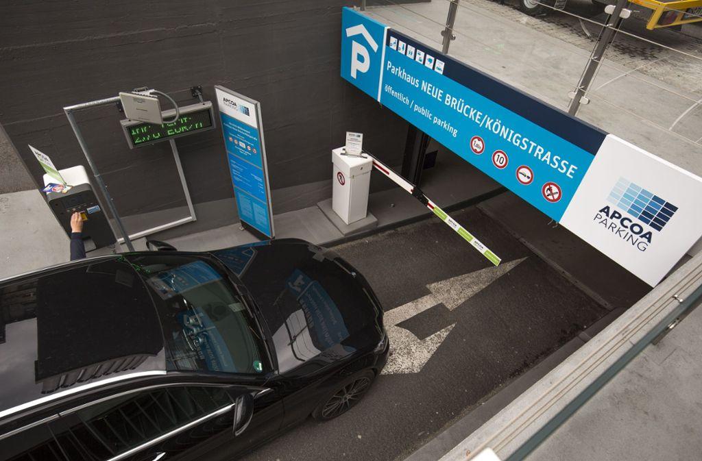 Für Autofahrer steht eine ausreichendes Angebot an Parkhäusern zur Verfügung. Foto: Lichtgut/