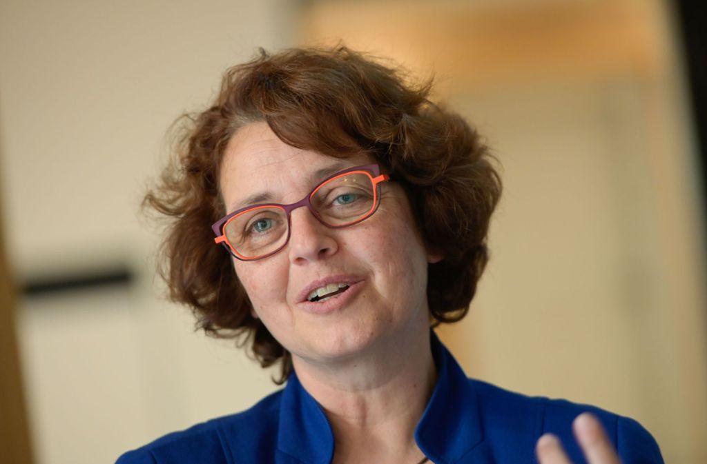 Die neue Chefin ist nicht auf den Mund gefallen: Astrid Pellengahr. Foto: Lichtgut/Leif-Hendrik Piechowski