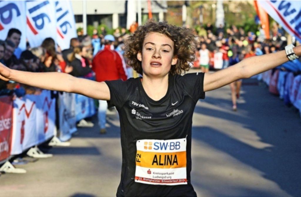 Alina Reh aus Laichingen verfügt über enorme Ausdauerfähigkeiten und will ihren Vorjahressieg beim Bietigheimer Silvesterlauf wiederholen. Foto: Baumann