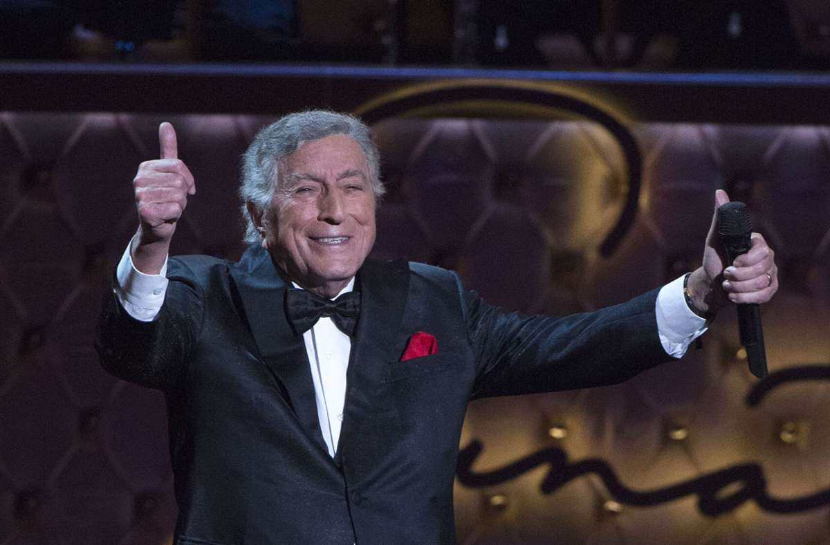 Der ultimative Gentleman: Jazz-Legende Tony Bennett Foto: AFP/VALERIE MACON