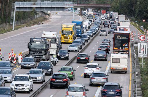 Autofahrer können auf freie Strecken hoffen