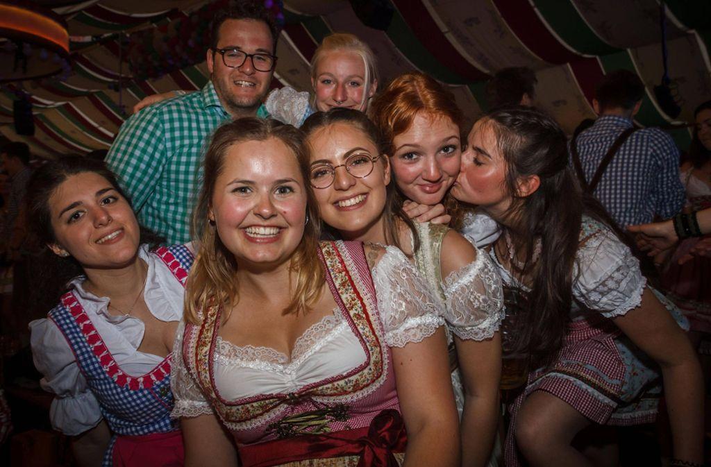 Noch bis zum 12. Mai kann in den Festzelten des Frühlingsfestes gefeiert werden. Foto: 7aktuell.de/