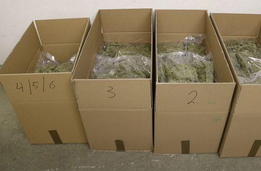 Polizei findet 30 Kilogramm Marihuana