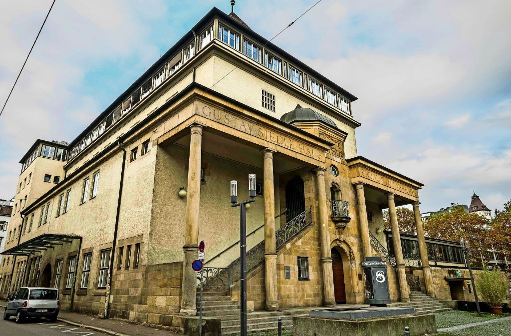 Die Gründungsveranstaltung  fand 1917 im Gustav-Siegle-Haus statt. Foto: LG/Kovalenko