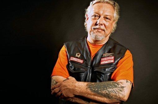 Fotograf und Rockerpräsident: Lutz Schelhorn Foto: Heinz Heiss