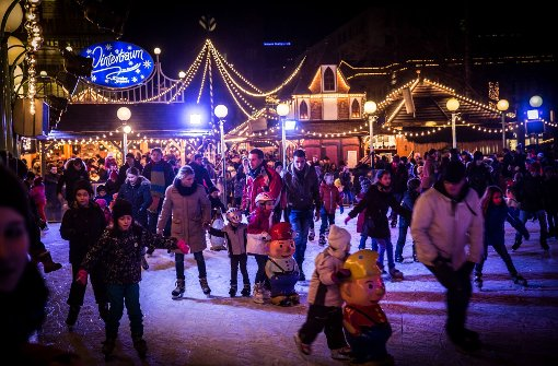 Bald herrscht wieder weihnachtliche Stimmung in Stuttgart