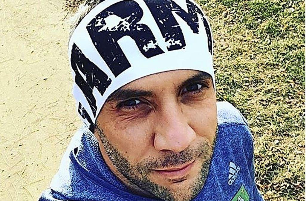 Gabriel Svajda mischt häufig bei City-Marathons mit – aber in Leipzig tat er etwas ganz Besonderes. Foto: Screenshot Instagram