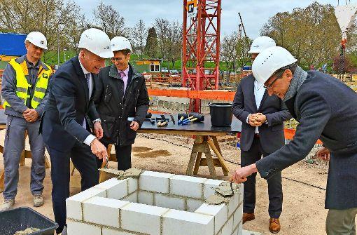Grundstein für 95 neue Wohnungen