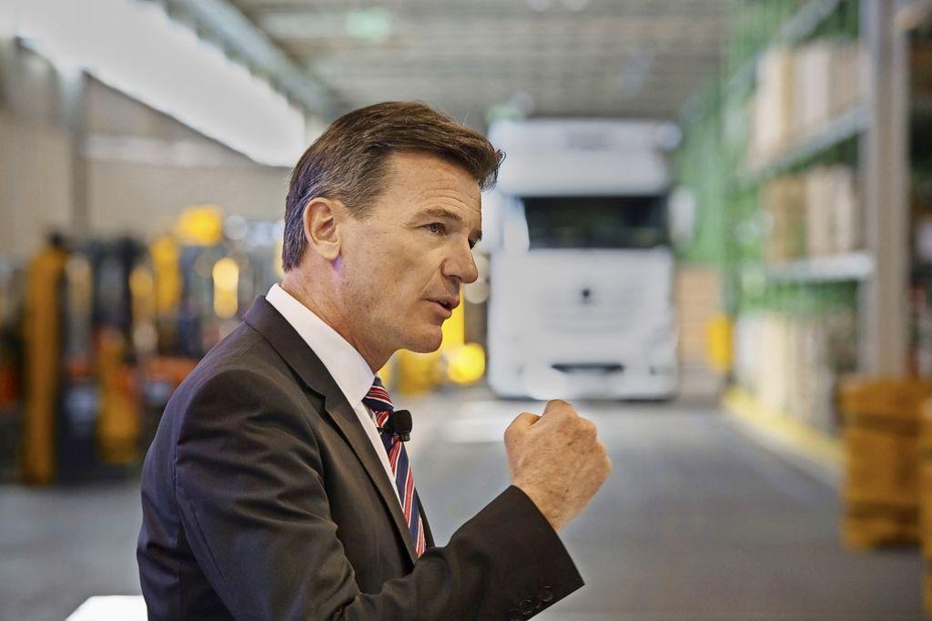 Daimler will den Elektro-Truck in den kommenden Jahren zur Serienreife bringen. Foto: dpa