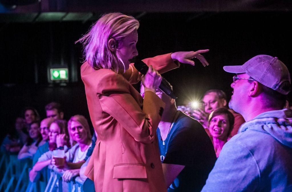 Leslie Clio im Club Wizemann Foto: Lichtgut/Julian Rettig
