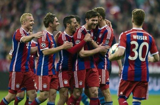 FC Bayern München tobt wie ein Fußball-Orkan