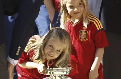 Spaniens kleine Prinzessinnen und der große Pott
