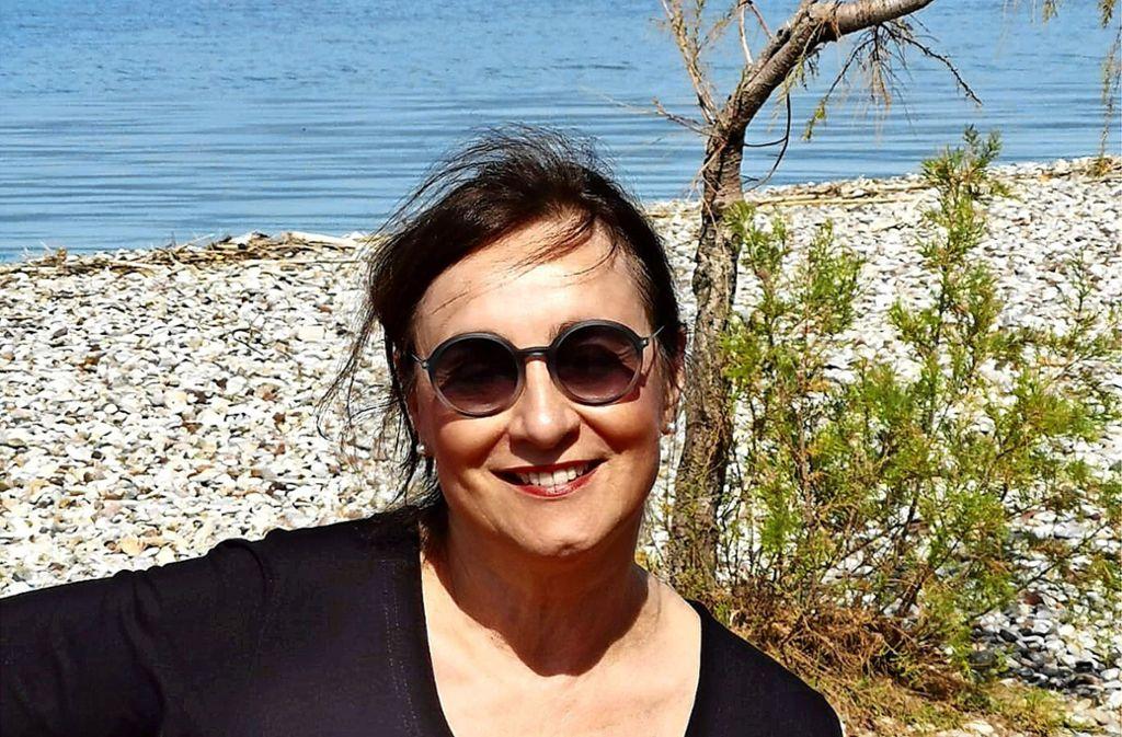 Brigitte Kunath-Scheffold  am Golf von Korinth Foto: privat