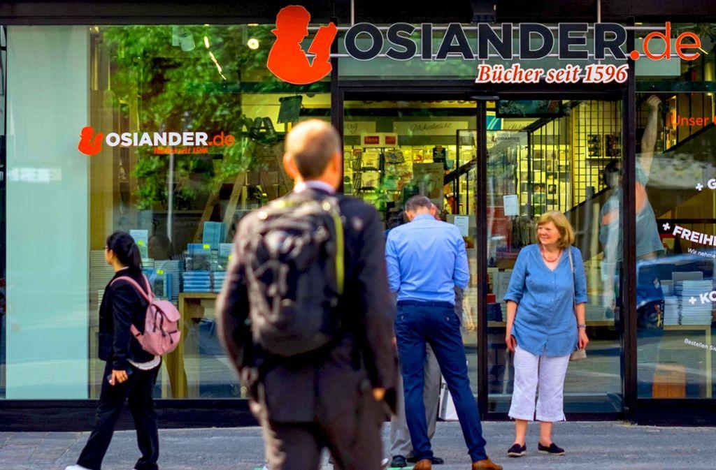 Cyber-Attacke auf  Osiander-Filialen wie jene am Stuttgarter Marktplatz Foto: