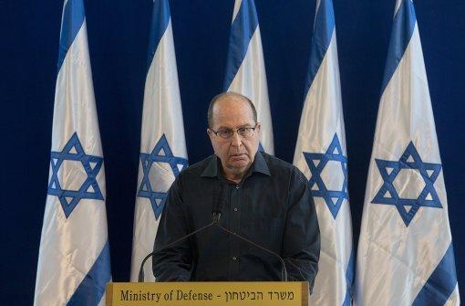 Verteidigungsminister Jaalon tritt ab
