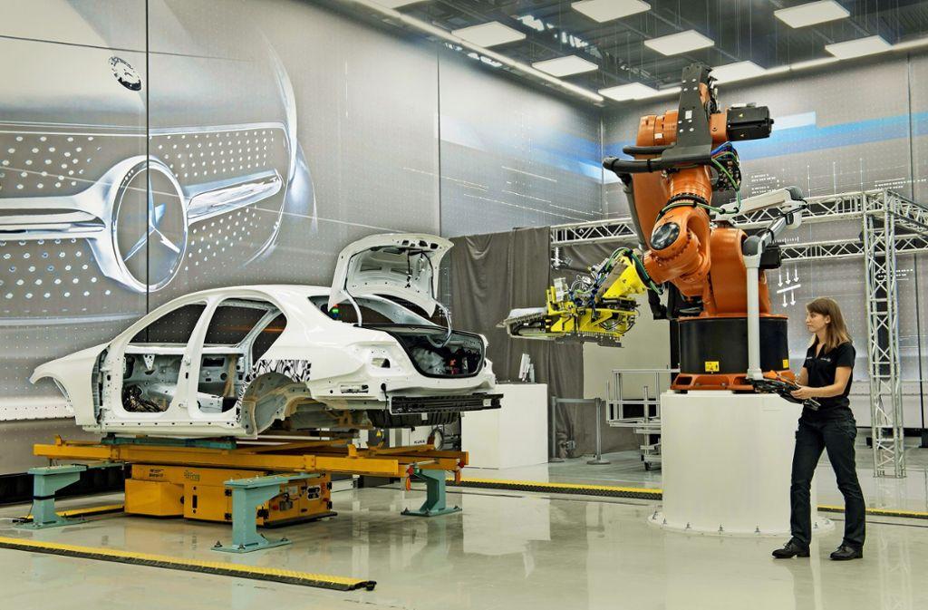 Daimler rangiert weiter auf dem ersten Platz der 50 größten Südwest-Unternehmen. Foto: MediaPortal Daimler AG