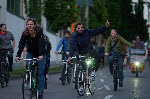 """""""So sähe das aus, wenn wir Fahrradstau hätten"""""""