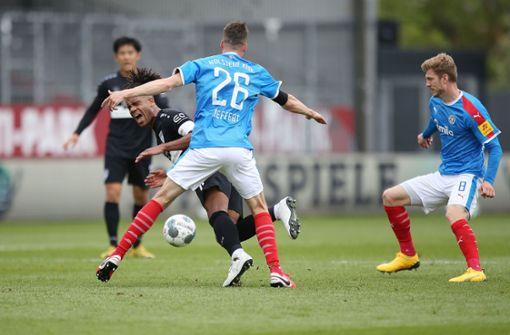 Der VfB verliert auswärts mit 2:3