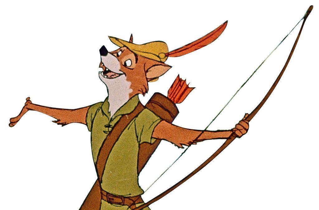Ein Held des Waldes: Robin Hood in der Verfilmung von 1973 Foto: Jauch und Scheikowski