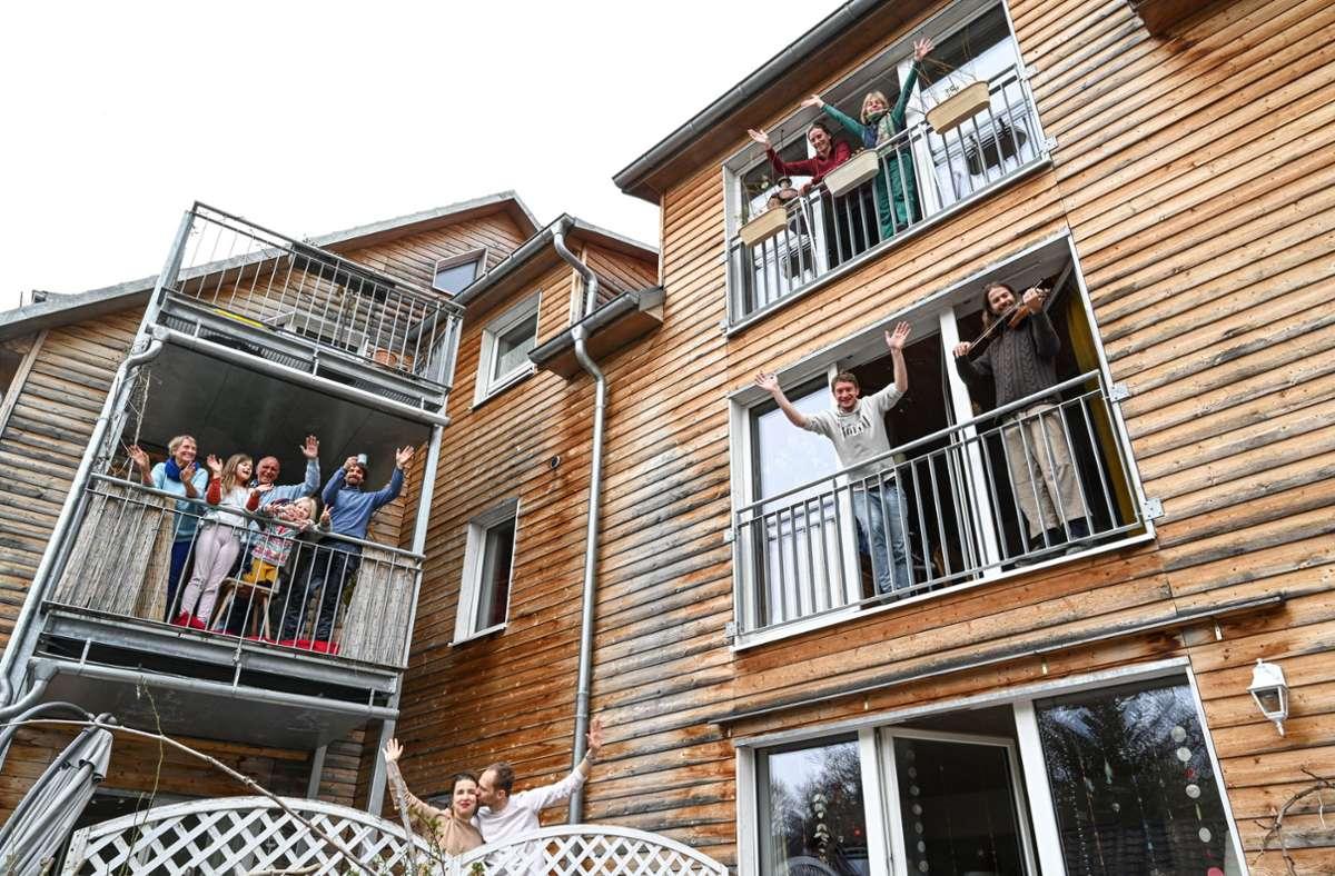 14 Fragen zum Thema Nachbarschaft: Die Degerlocher können noch bis zum 26. Oktober teilnehmen. Foto: dpa/Felix Kästle