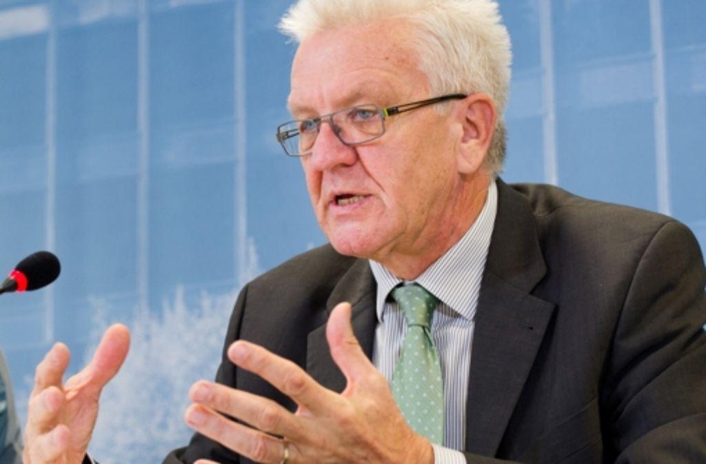 Südwest-Ministerpräsident Winfried Kretschmann hat eine Selbstreinigung des Islam angemahnt. Foto: dpa