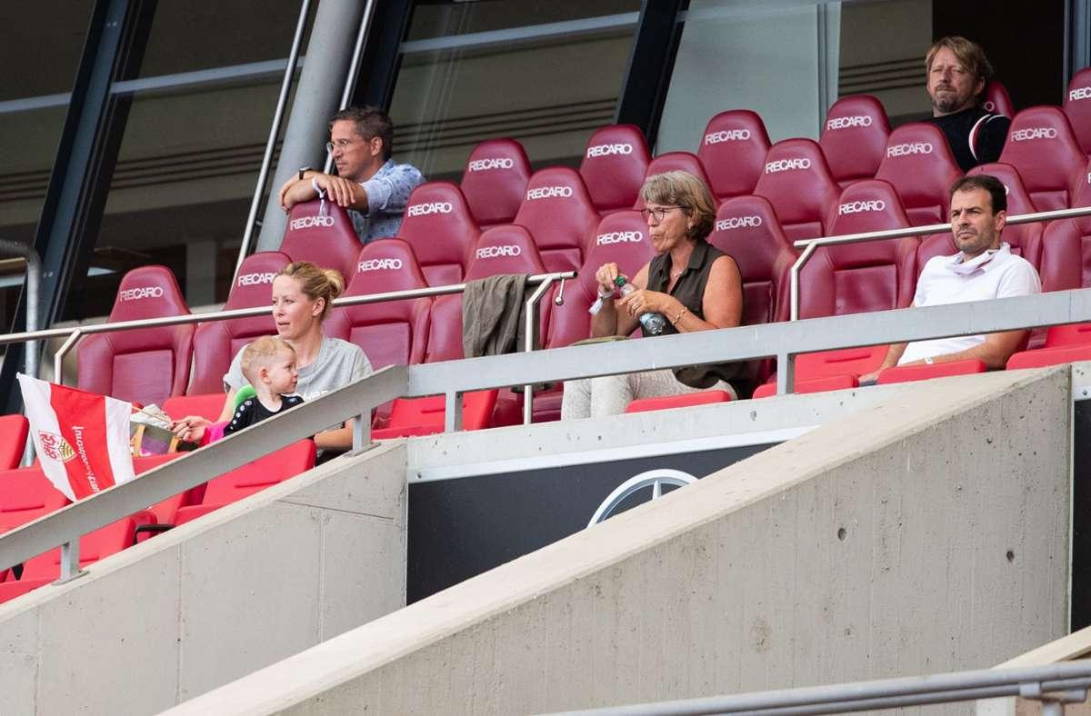 In Stuttgart findet womöglich ein Länderspiel im September statt. Foto: dpa/Tom Weller