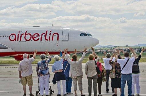 Air Berlin kämpft um Stuttgart-Flug nach Abu Dhabi