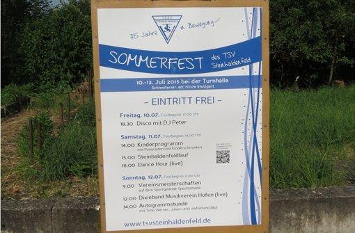 Drei Tage Sommerfest