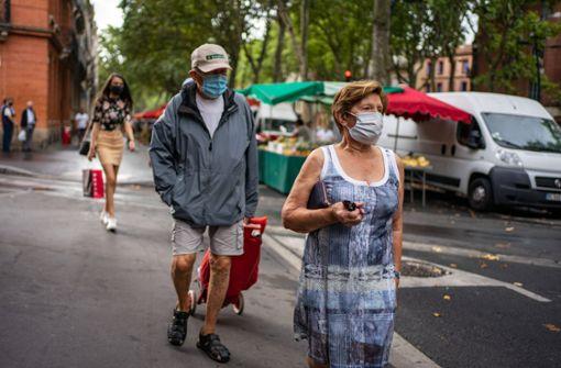 Ab Samstag auch in Straßburg Maskenpflicht im Freien