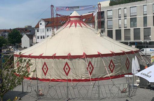 Sindelfinger Kulturzelt  erhält Open-Air-Status