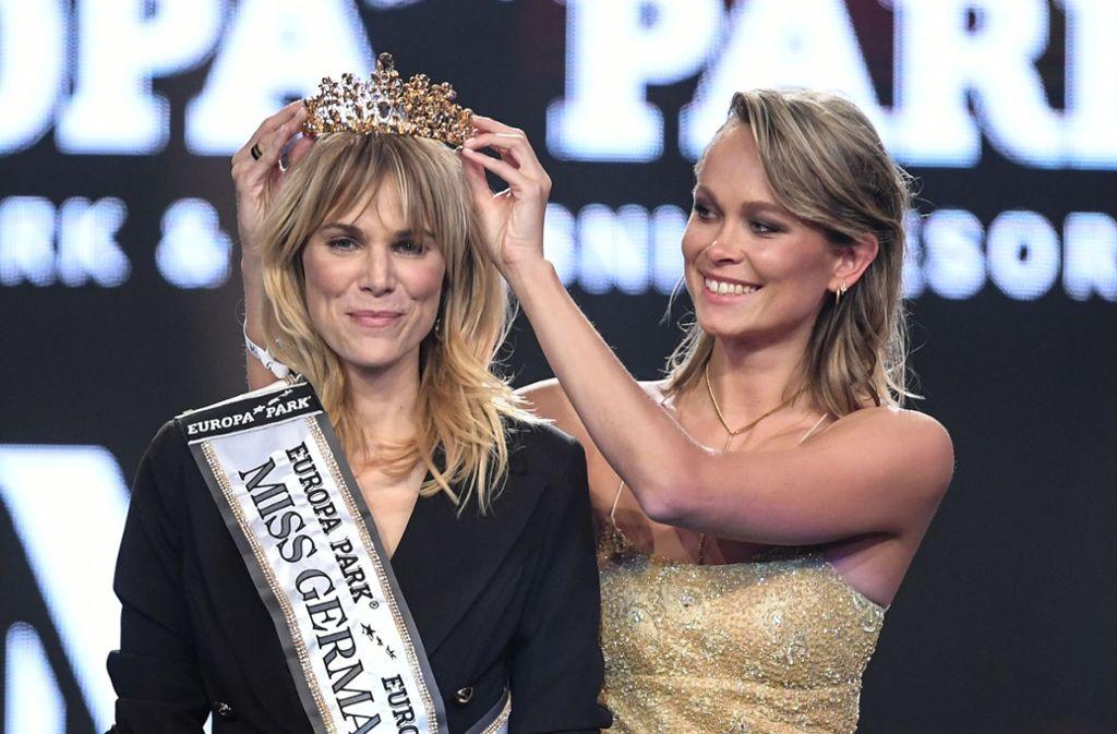 "Leonie Charlotte von Hase  ist ""Miss Germany"" 2020. Foto: dpa/Patrick Seeger"