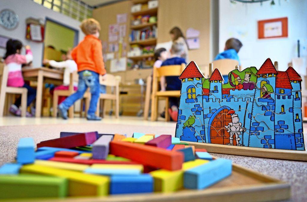 Für die Betreuung von Kindern schafft die Stadt Renningen mehr als sechs Vollzeitstellen. Foto: dpa