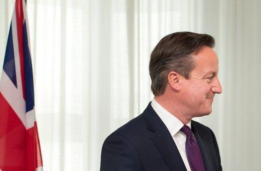 Cameron zu Besuch bei Merkel